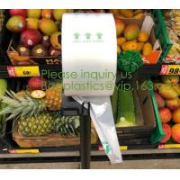 China OEM Biodegradable Compost Bags Food Produce Fruit Pack Store Market on sale