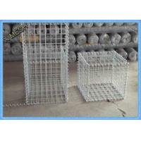 China Low Carbon Iron Wire Welded Wire Gabion Baskets Retaining Wall 1 X 1 X 1 Meters wholesale