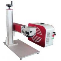 China 20 Watts Portable Fiber Laser Marking Machine For Metal With High Performance wholesale