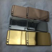 China Luxury 24ct real gold plating housing for iphone 5s 6 / / full diamond housing for iphone 5 5s 6 back cover wholesale