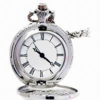 China Pocket Watch with Japan Movement Alloy Case, Keychain, Best Gift for Promotional wholesale