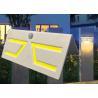 China Fashion Motion Sensor Solar Garden Light , Solar Patio Wall Lights Sun Resistance wholesale