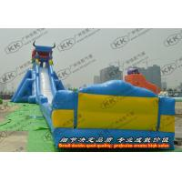 China Commercial Huge Inflatable Water Slide Heavy Strength for Advertising on sale