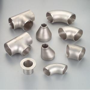 China Butt Weld Elbow Tee Stud End Cap ASTM SA815 WPS31803 WPS32750 WPS32205 wholesale