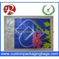 China Clear Die Cut Handle Plastic Eco Friendly Shopping Bags HDPE / LDPE HDB11 wholesale