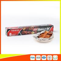 China Aluminium Paper Backed Foil For Food Packaging , Aluminum Wrapping Paper wholesale