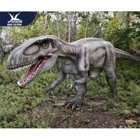 China Theme Park Robotic Life Size Realistic Dinosaur Models With 12 Months Warranty wholesale