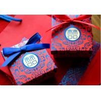 China India  wedding favor gift cardboard boxes /warm ,festive and red wedding boxes wholesale