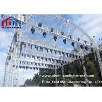 China Arch Shape Aluminum Stage Truss , Outdoor Truss StructureTruss Display Systems wholesale