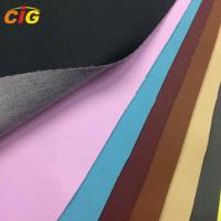 Buy cheap Semi PU Synthetic Leather 0.8mm - 1.2mm Thickness for Sofa and Car Seat Cover Printing from wholesalers
