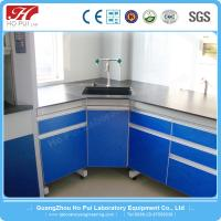 Commercial Furniture General Use Iron Metal Type laboratory chemical island