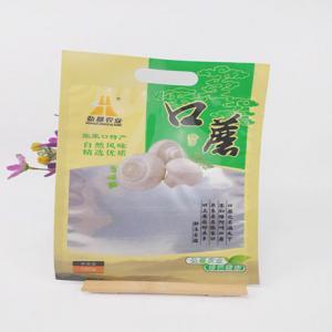 China Eco Friendly Food Grade Die Cut Handle Plastic Bags wholesale