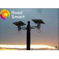 China 160lm/w Solar Powered Road Lights Double Arm Installation With Adjustable Solar Panel wholesale