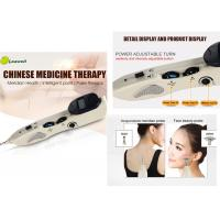 China Low Frequency Electronic Acupuncture Pen With 3 Replaceable Probes 1-10 Intensity wholesale