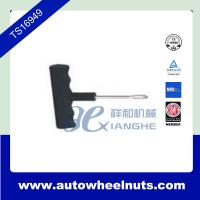 China T - Handle Side Colsed Eye Plugger Auto Tire Repair Tool For Tubeless Tyre wholesale