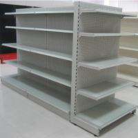 China Used store rack basket shop fitting supermarket rack and trolley wholesale