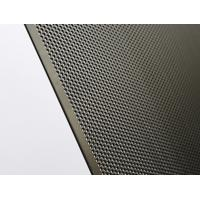 China Stable Double Doors Round Hole Aluminum Perforated Sheet Easy To Clean / Install on sale