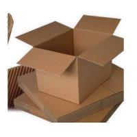 China Single / Double Wall Cardboard Storage Boxes With Lids Cardboard Shipping Boxes on sale