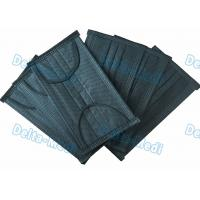 China Black 4- Ply Ear Loop Disposable Non Woven Face Mask With Active Carbon wholesale