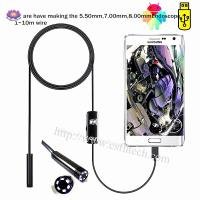 China 2019 High Quality Cheap Endoscope Camera Flexible IP67 Waterproof Inspection Borescope Camera for Android PC wholesale