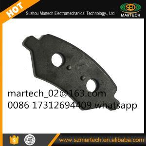 China Suzhou Martech Good Quality Auto Car Brake Pad Metal Back Plate wholesale