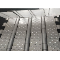 China plate conveyor belt with stainless steel, food processing oven on sale