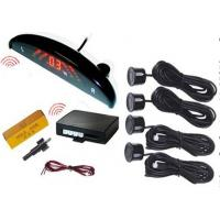 China Wireless Car Reverse Parking Sensor With Camera , 4 Sensors With Lcd Display wholesale