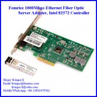 China 1000Mbps Server Ethernet Network Adapter SFP Slot*1 Network Card PCI Express Bus Interface Card  Femrice 10001PF wholesale