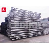 China Long Span Outdoor Aluminum Foldable Arched Roof Scaffold Truss For Exhibition wholesale