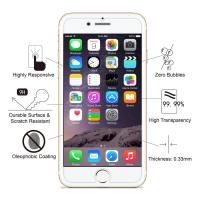 China 99% HD Clarity Premium Smartphone Glass Screen Protector Touch Sensitive wholesale
