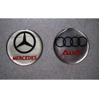 China Mercedes and Audi Crystal Car Epoxy Sticker wholesale