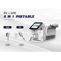 China Portable 2 In 1 Multi Function Laser 2 Handpiece E - Light/ IPL/ SHR/ OPT /RF Machine wholesale