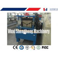 China ISO Hydraulic Roof Ridge Cap Roll Forming Machine with Industrial GCr15 Roller wholesale