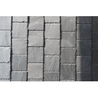 China Grey Slate Roof Tiles Natural Stone Roofing Slate with Roof Gutter wholesale