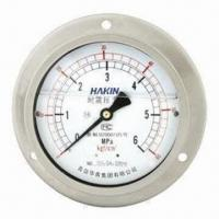 China Liquid-filled Pressure Gauge, Various Sizes are Available wholesale