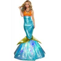 China Wholesale Sailor Sea Costume Aquarius Mermaid Dress for Halloween Christmas Party Carnival in Blue with XXS to XXXL wholesale