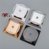 China Four Colour Square Solar Powered Rotating Display Stand Turntable For Jewelry Display wholesale