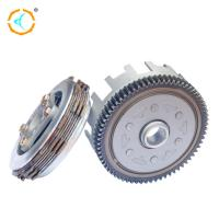 China Steel Shinny Scooter Clutch Assembly , CD110 Motorcycle Engine Clutch wholesale