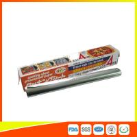 Heat Resistant Household Aluminium Sheet Roll For Food Packing With FDA SGS Certificate