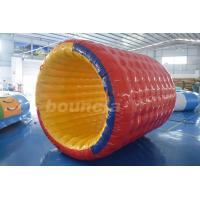 China Giant Colorful Durable Inflatable Water Roller For Rental Business wholesale