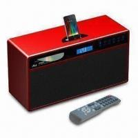China 2.1-channel Music Center for Apple's iPod, with Video Output and Built-in CD Player on sale