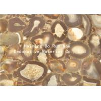 Stone Design Soft Pet Hot Stamping Film PVC Surface Covering Usage Manufactures
