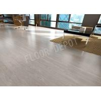 China Stable 12mm HDF ECO Laminate Flooring AC4 E1 Density 850 EIR V Groove Cherry Color wholesale