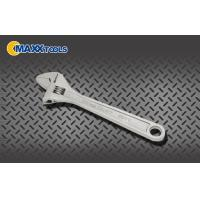 China Heavy Duty Adjustable Spanner Wrench , Micro Nickel Plated 12 Inch Adjustable Wrench wholesale