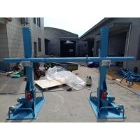China Electrical Carrying Cable Reel Stand Pulling Tools 20 Ton With Hydraulic Jack wholesale