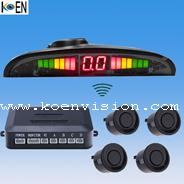 China Easy Fitting Reliable Car Wireless Parking Sensor System KW4-E02 on sale