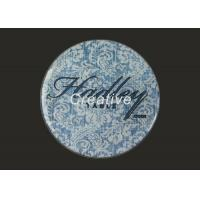 China Multi Color Circle Cork Drink Coasters Personalized With White Vinyl / PP / PVC wholesale