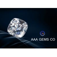 China Super Colorless Moissanite , Cushion Cut Moissanite In Size 6.5mm wholesale