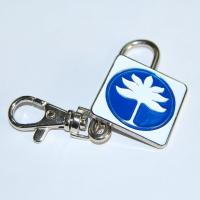 China Crystal metal soft enamel purse key finder for purse and bag on sale