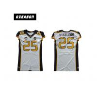 China Sublimated Youth Football Jerseys , Logo Custom College Football Jerseys wholesale